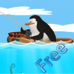 Penguin Fishing icon