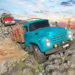 Offroad Long Truck Sim - Offroad Quad Jeep Driver icon