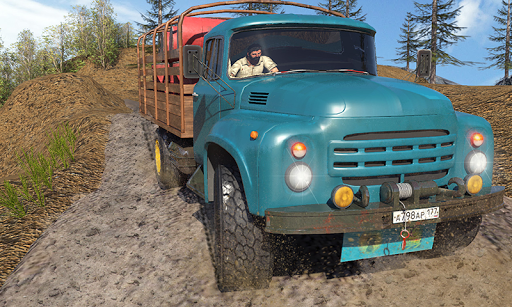 Offroad Long Truck Sim - Offroad Quad Jeep Driver pc screenshot 1