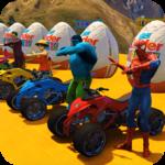 Grand Superhero Pro ATV Quad Racing for pc logo
