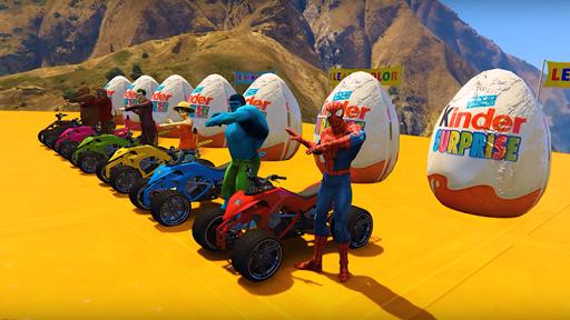 Grand Superhero Pro ATV Quad Racing pc screenshot 1
