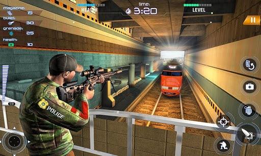 Train Counter Terrorist Attack FPS Shooting Games PC screenshot 1