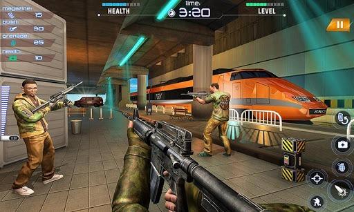 Train Counter Terrorist Attack FPS Shooting Games PC screenshot 3