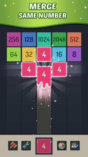 Merge Block - 2048 Puzzle PC screenshot 1