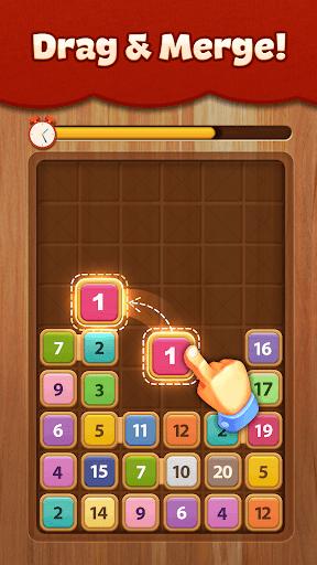 Merge Wood: Block Puzzle PC screenshot 1