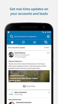 LinkedIn Sales Navigator pc screenshot 1