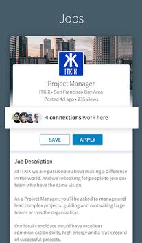 LinkedIn pc screenshot 1