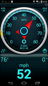 Gps Speedometer pc screenshot 1
