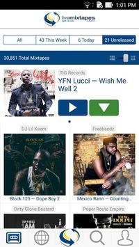 LiveMixtapes - Free Mixtapes pc screenshot 1