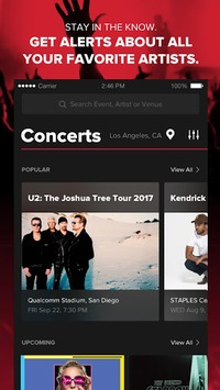 Live Nation At The Concert pc screenshot 1