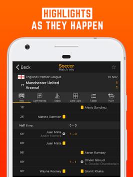 LiveScore: Live Sport Updates pc screenshot 2