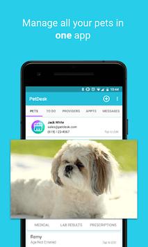 PetDesk - Pet Health Reminders pc screenshot 1