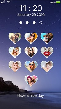 love photo keypad lockscreen pc screenshot 2