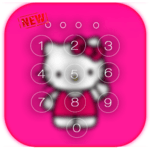 Kawaii Kitty Lock Screen theme icon