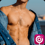 Lollipop - Gay Video Chat & Gay Dating for Men icon