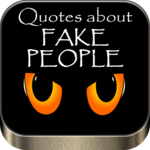 Quotes about fake people icon