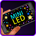 Mini LED Scroller for pc logo