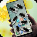 Flies in phone prank icon