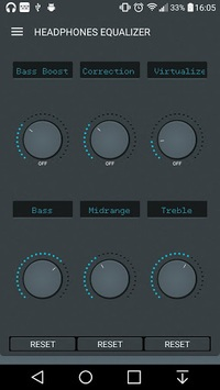 Headphones Equalizer - Music & Bass Enhancer pc screenshot 1