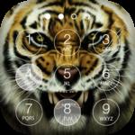 Tiger Keypad Screen Lock Skin icon