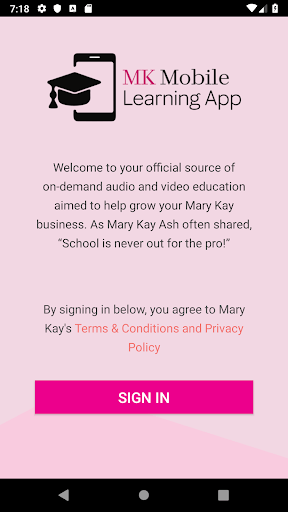 Mary Kay® Mobile Learning pc screenshot 1