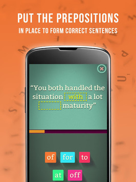 Preposition Master - Learn English pc screenshot 1