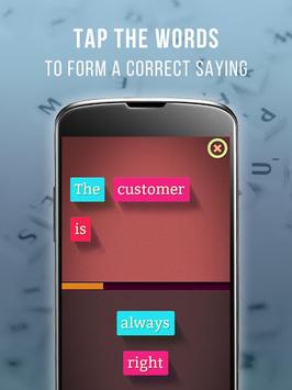 Learn English Vocabulary & Sayings- Sayings Master pc screenshot 1
