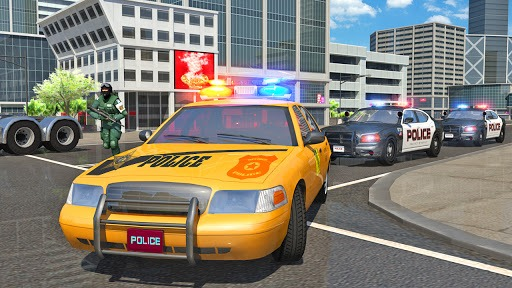 Police Car Driving in City PC screenshot 1