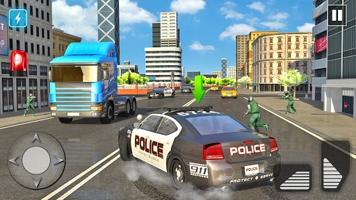Police Car Driving in City PC screenshot 2