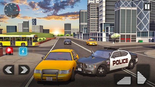 Police Car Driving in City PC screenshot 3