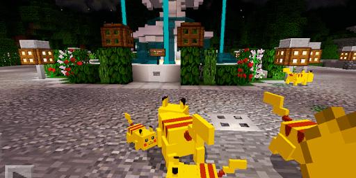 Pikachy and Raichy Addon. Map for MCPE pc screenshot 2