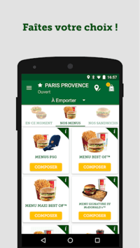 McDo France pc screenshot 1