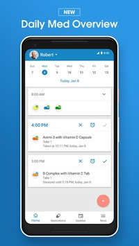 Pill Reminder and Medication Tracker by Medisafe pc screenshot 1