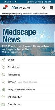 Medscape pc screenshot 1