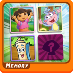 Memory Kids Dora Girls icon