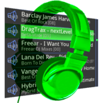 Trax Music Player for pc logo