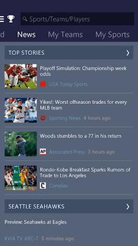 MSN Sports - Scores & Schedule pc screenshot 2