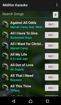 Midifun Karaoke pc screenshot 1