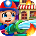 Baby Fireman! Kids Hero Rescue icon