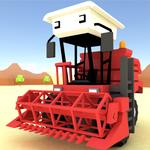 Blocky Farm Racing & Simulator icon