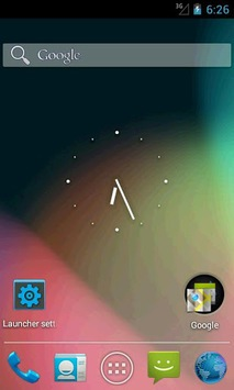 Holo Launcher for ICS pc screenshot 1