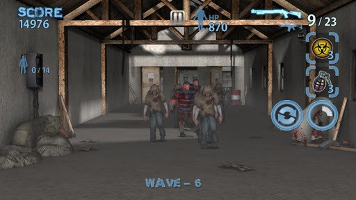 Zombie Hunter King pc screenshot 1
