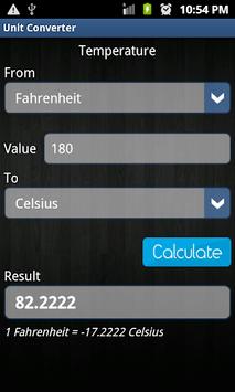 Unit Converter pc screenshot 1