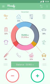 Monefy - Money Manager pc screenshot 1