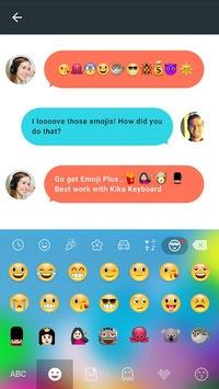 Emoji Plus for Galaxy-Kika pc screenshot 1