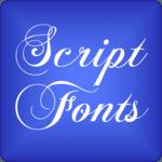 Script 2 Fonts for FlipFont® icon
