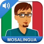 Learn Italian for pc logo