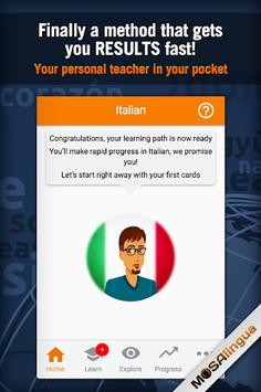 Learn Italian pc screenshot 1
