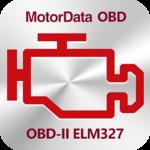 MotorData OBD Car Diagnostics. ELM OBD2 scanner for pc logo