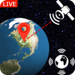 Live Earth Map Real Time: Satellite View GPS Track icon